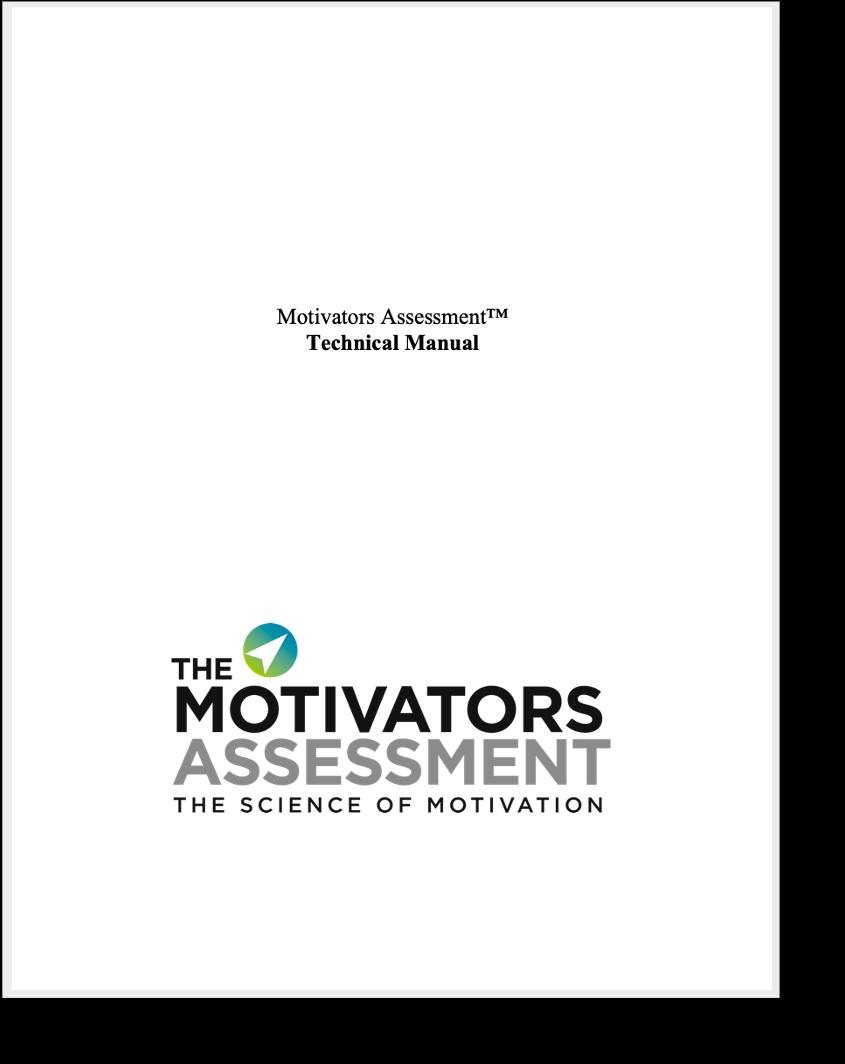 Motivators Assessment Technical Manual