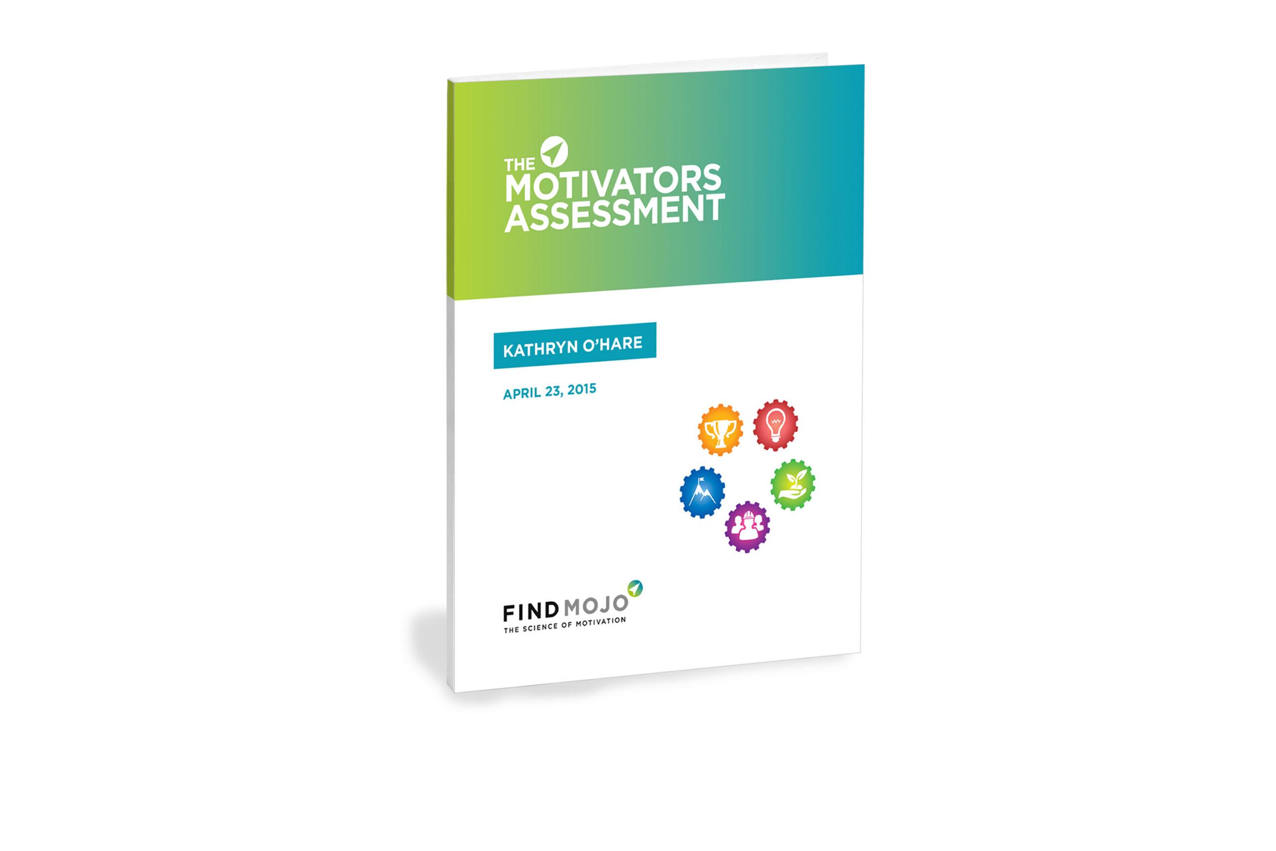 motivators assessment book