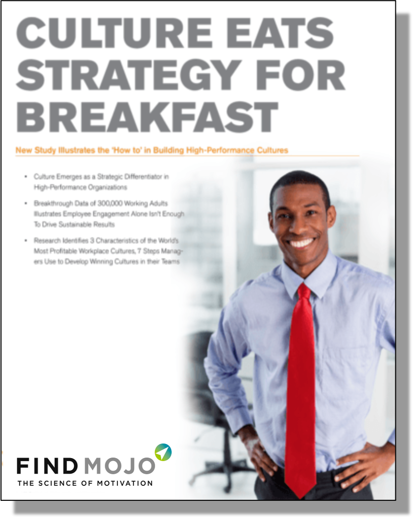 Culture Eats Strategy for Breakfast White Paper